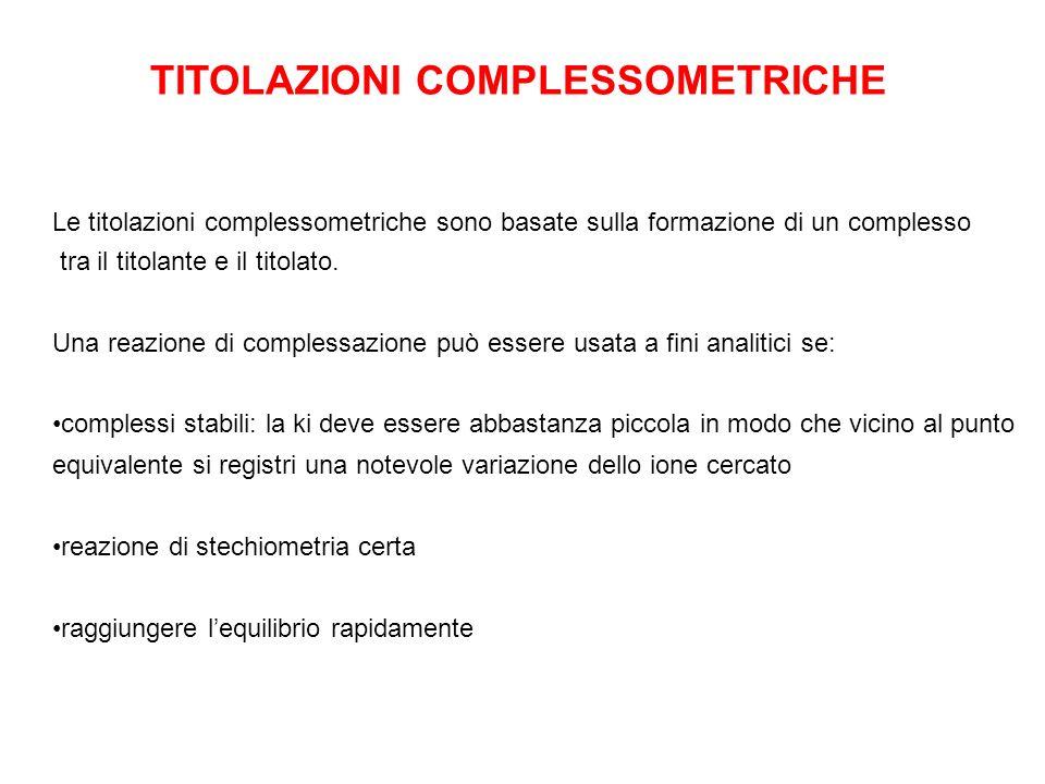 TITOLAZIONI COMPLESSOMETRICHE