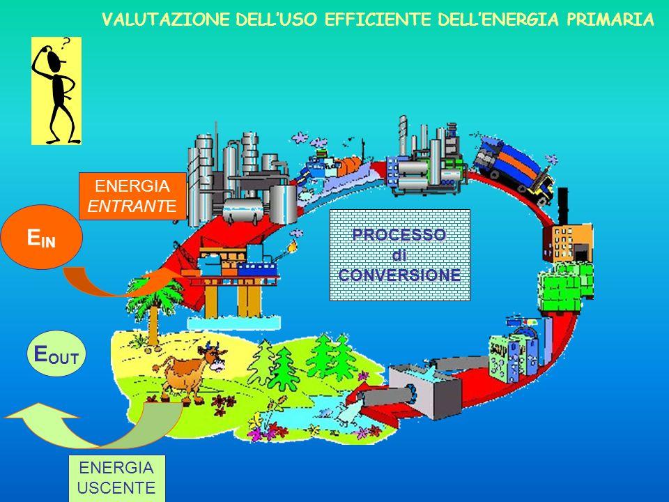 EIN EOUT VALUTAZIONE DELL'Uso efficiente dell'energia primaria