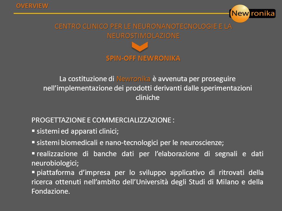 CENTRO CLINICO PER LE NEURONANOTECNOLOGIE E LA NEUROSTIMOLAZIONE