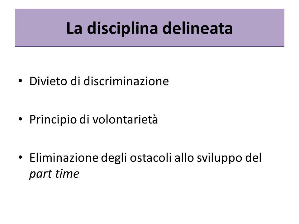 La disciplina delineata