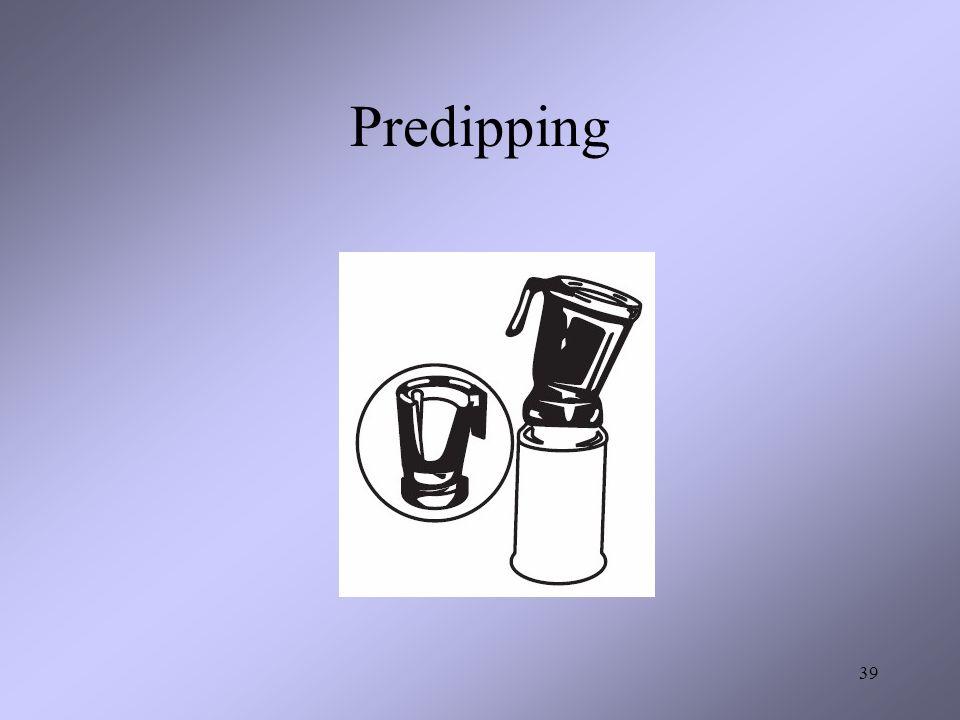 Predipping