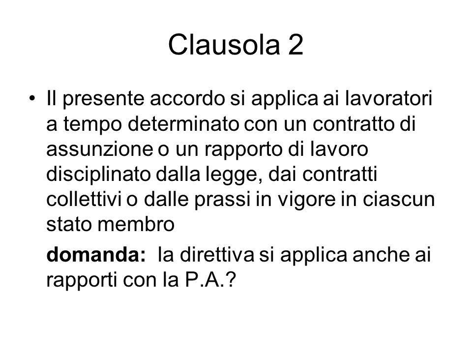 Clausola 2