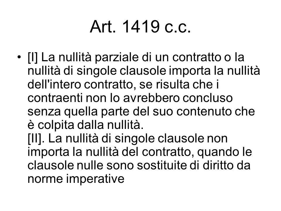 Art. 1419 c.c.