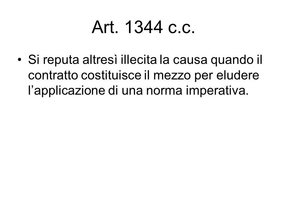 Art. 1344 c.c.