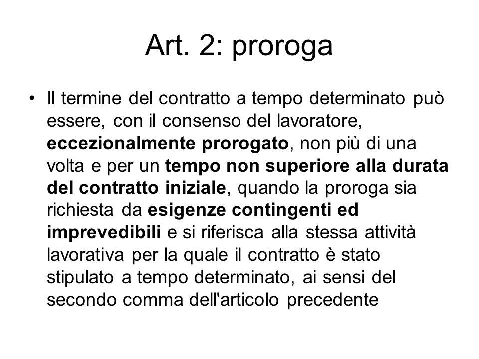 Art. 2: proroga