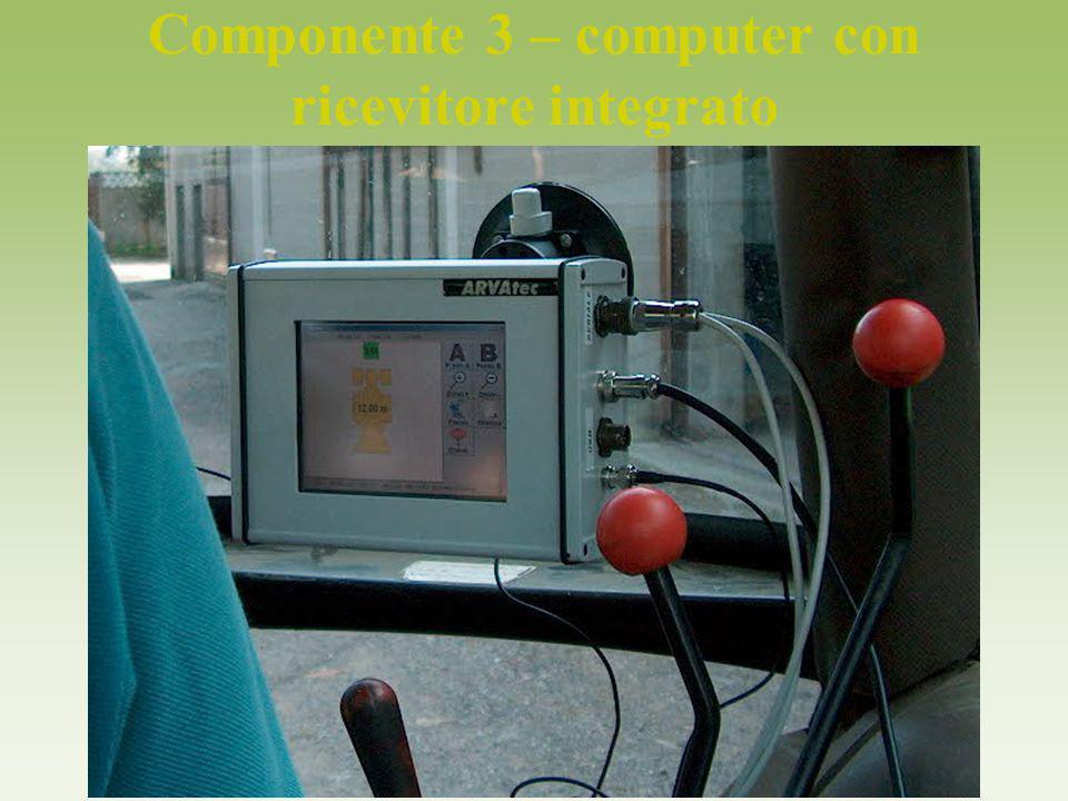 Componente 3 – computer con ricevitore integrato