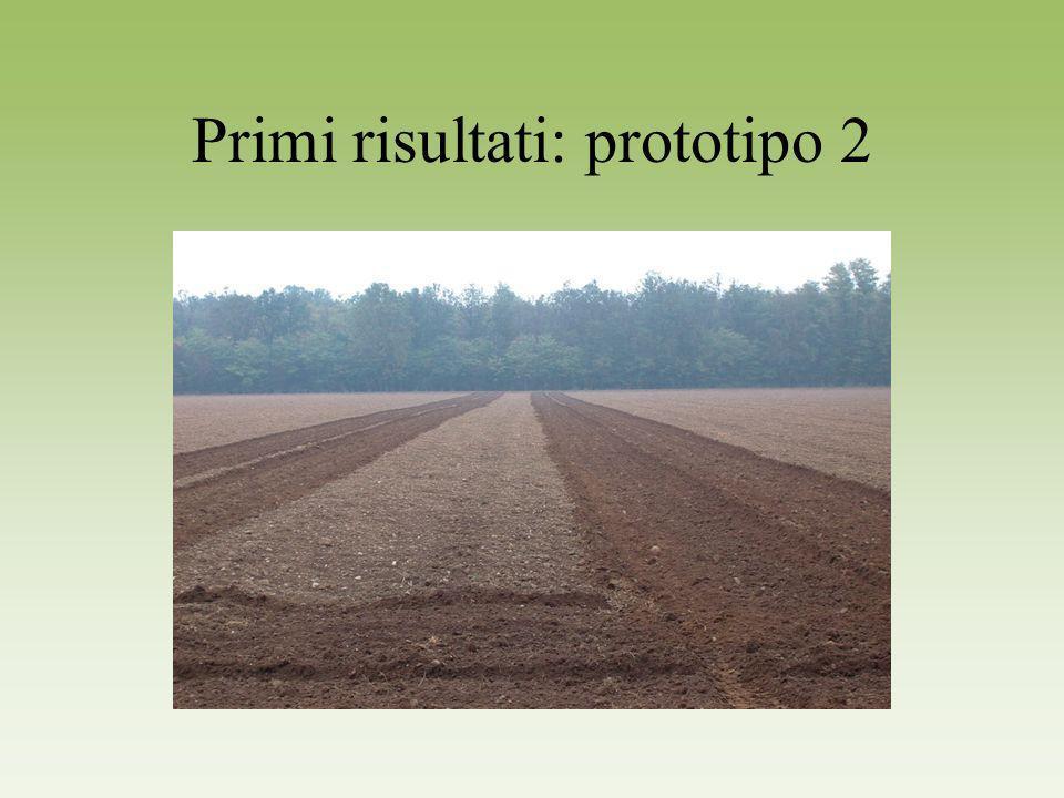 Primi risultati: prototipo 2