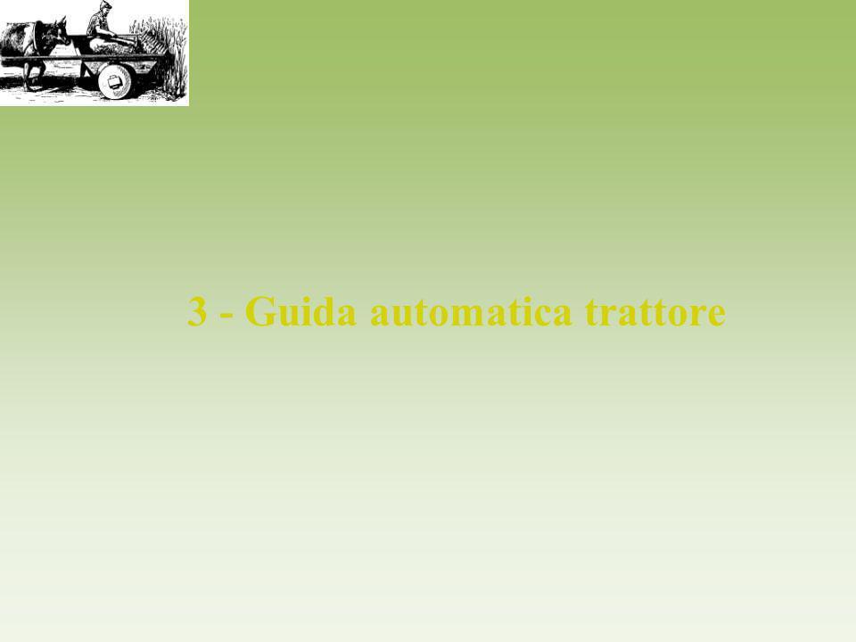 3 - Guida automatica trattore