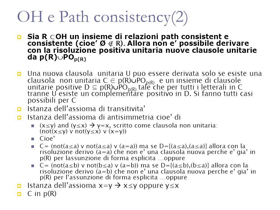 OH e Path consistency(2)