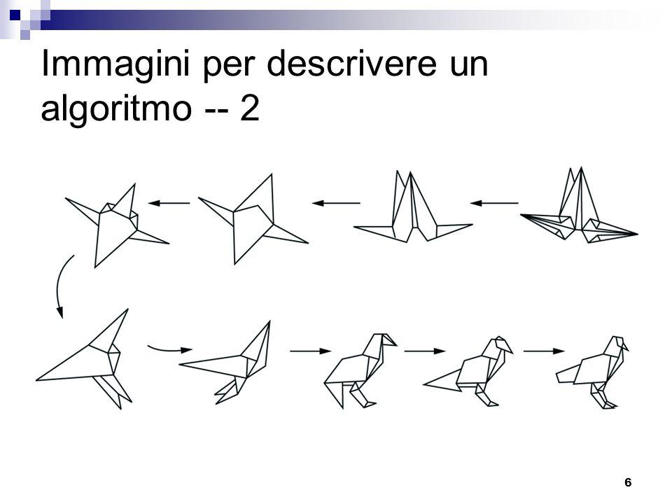 Immagini per descrivere un algoritmo -- 2