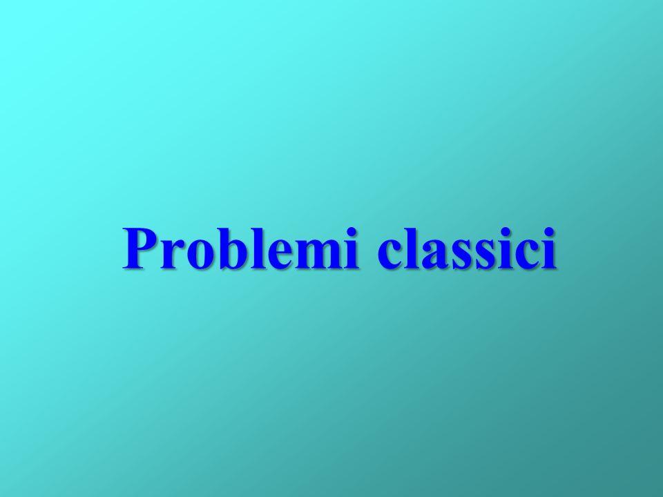 Problemi classici
