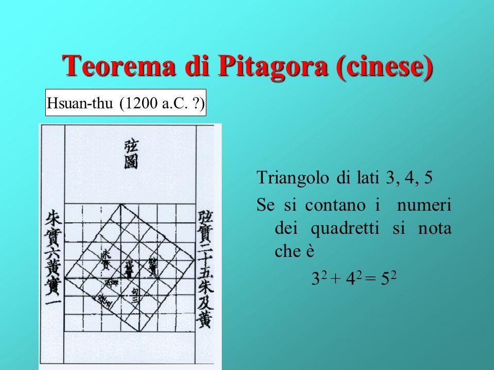 Teorema di Pitagora (cinese)