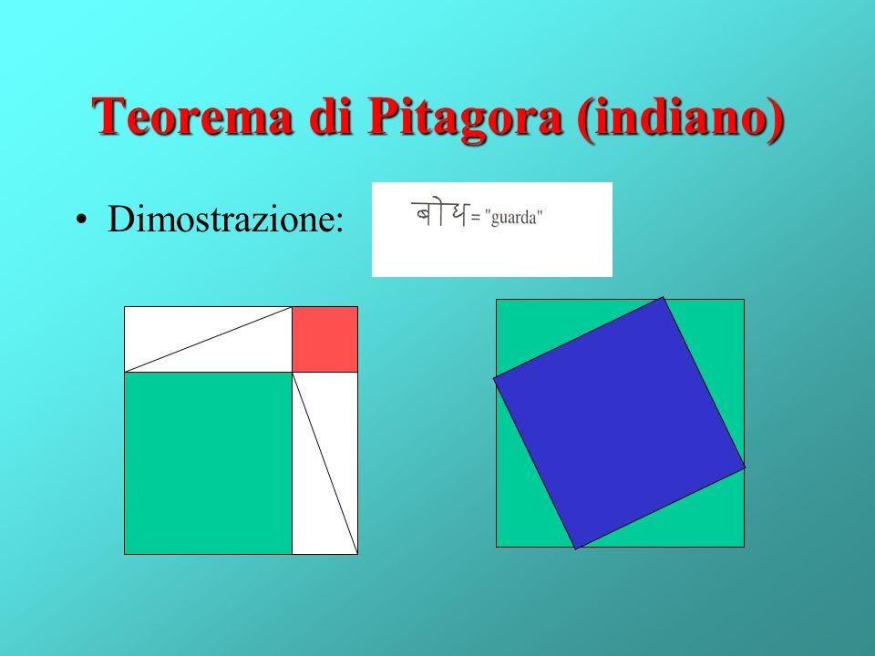 Teorema di Pitagora (indiano)