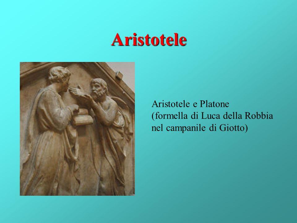 Aristotele Aristotele e Platone (formella di Luca della Robbia