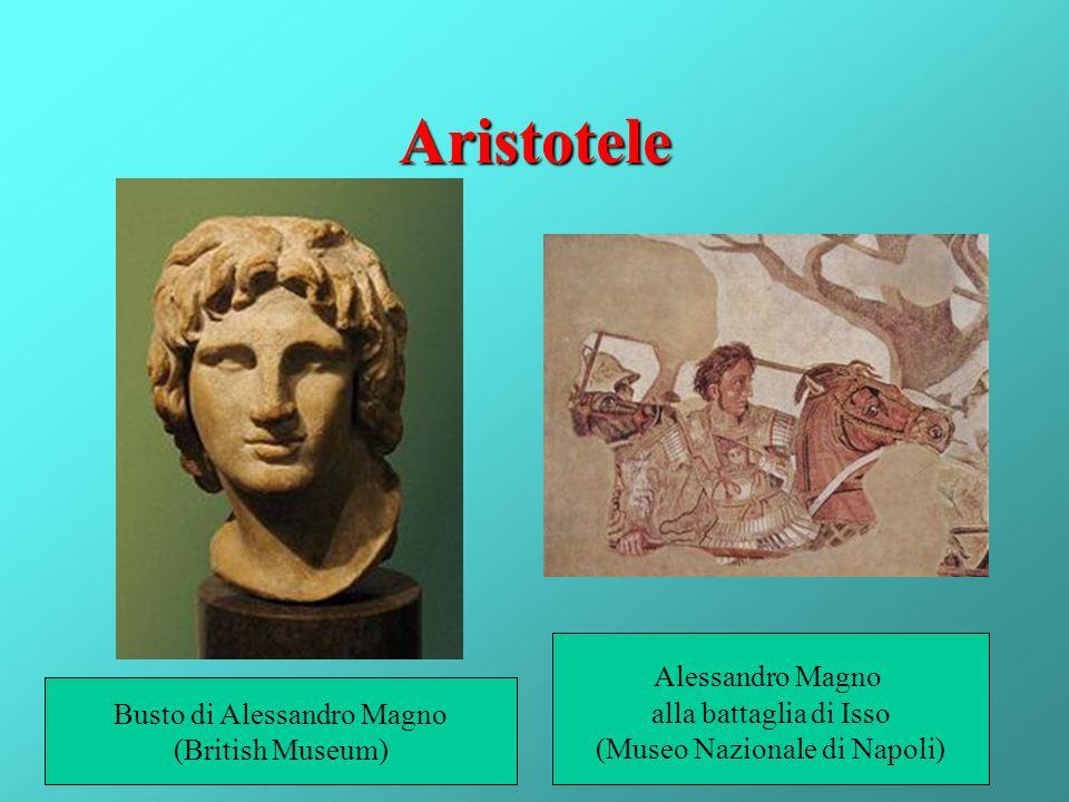 Aristotele Alessandro Magno alla battaglia di Isso