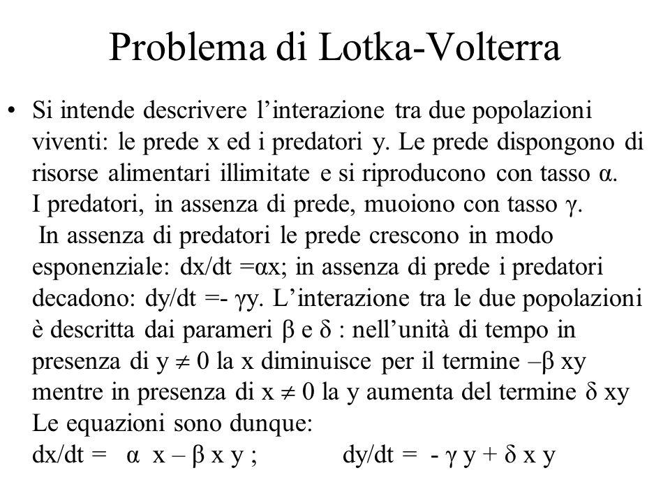 Problema di Lotka-Volterra