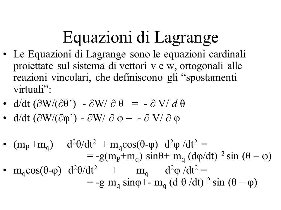 Equazioni di Lagrange
