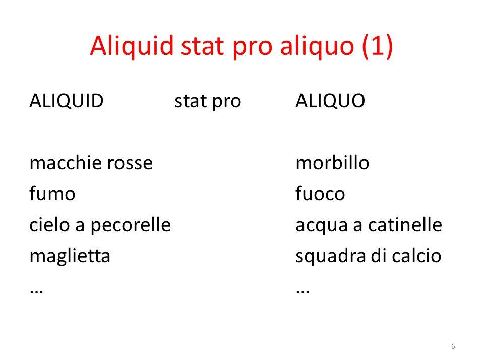 Aliquid stat pro aliquo (2)