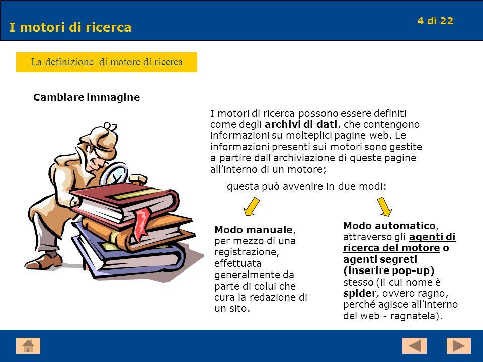 La definizione di motore di ricerca