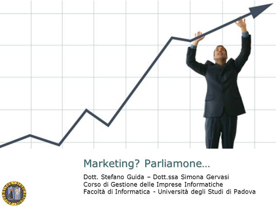Marketing Parliamone…