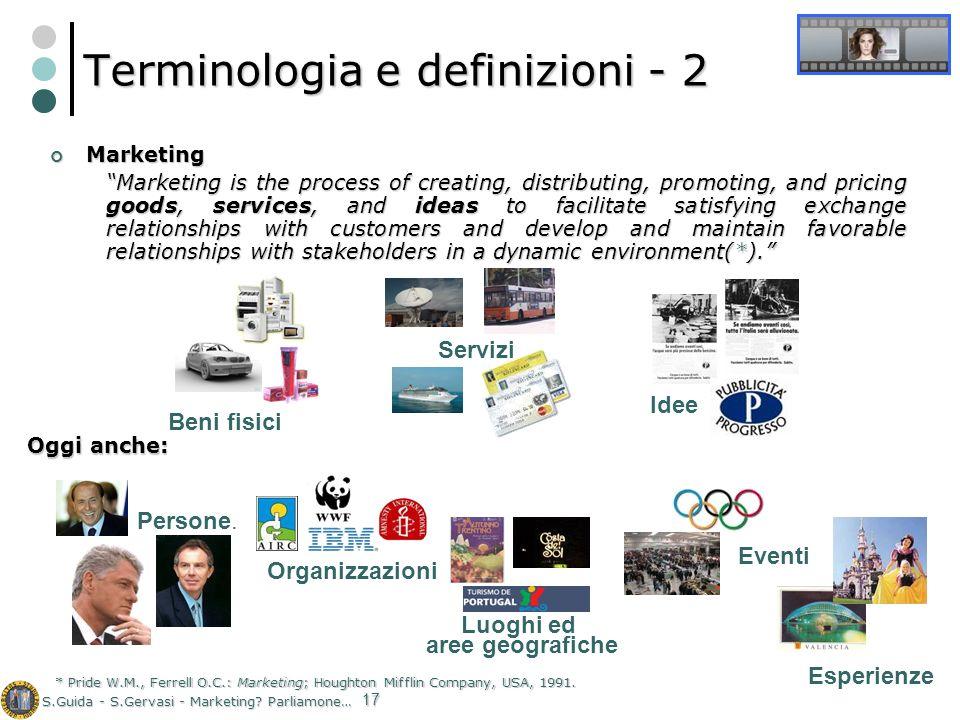 Terminologia e definizioni - 2