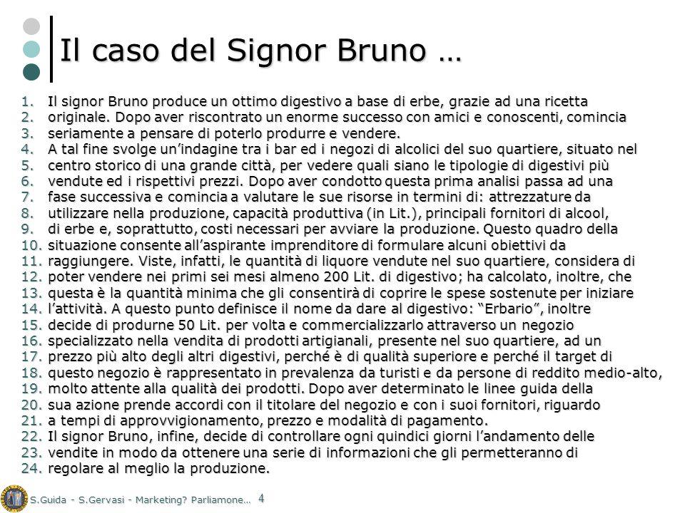 Il caso del Signor Bruno …