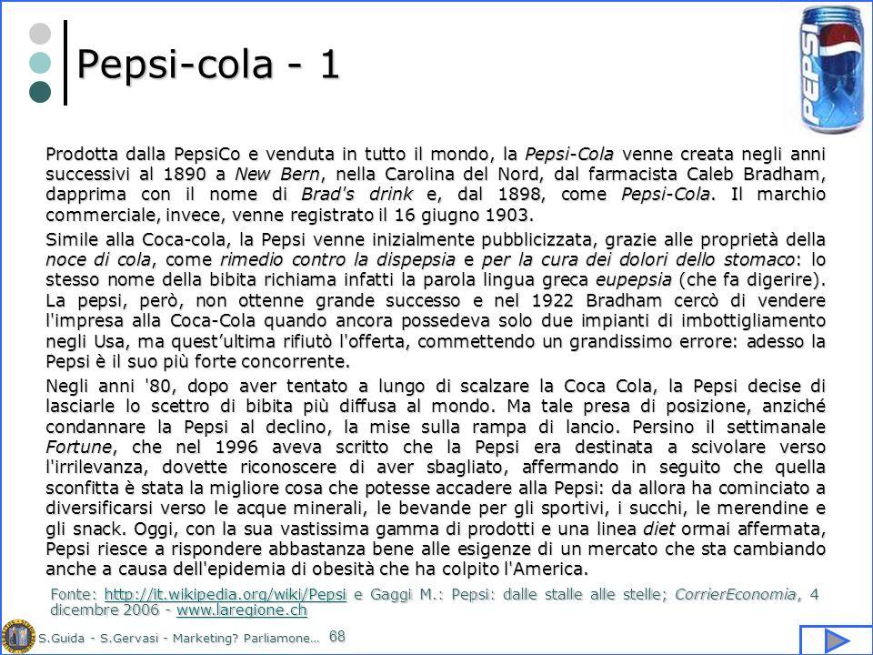 Pepsi-cola - 1