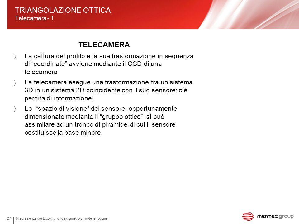 TRIANGOLAZIONE OTTICA Telecamera - 1