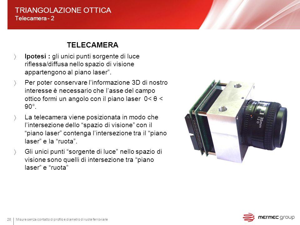 TRIANGOLAZIONE OTTICA Telecamera - 2