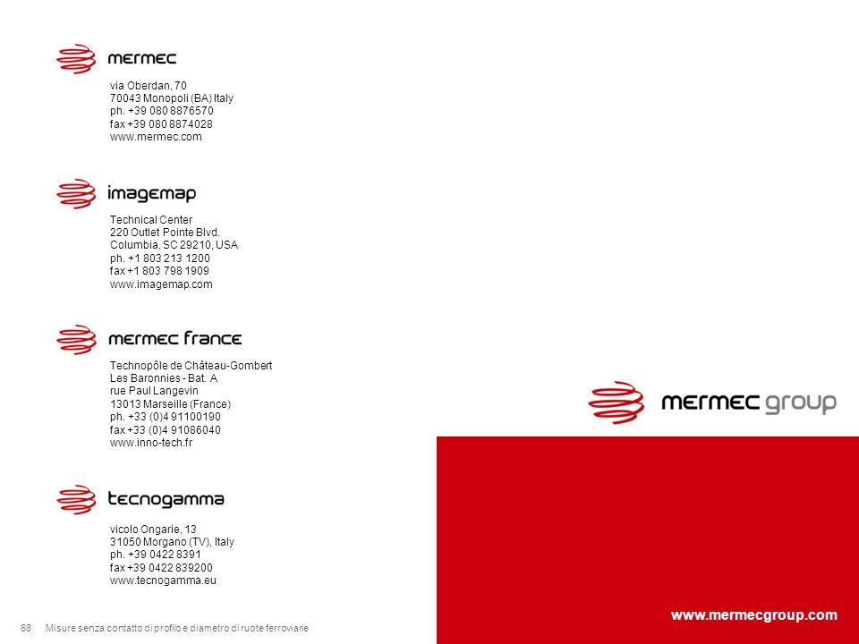 www.mermecgroup.com via Oberdan, 70 70043 Monopoli (BA) Italy