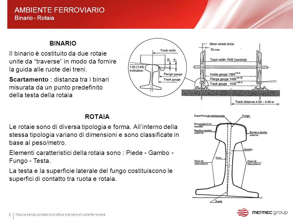 AMBIENTE FERROVIARIO Binario - Rotaia
