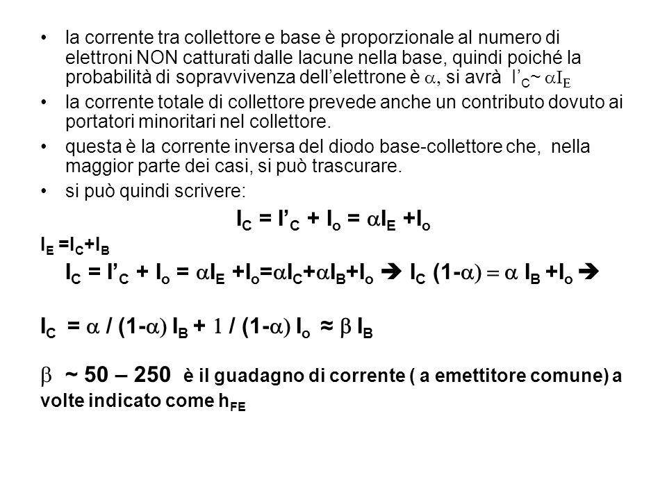 IC = I'C + Io = aIE +Io=aIC+aIB+Io  IC (1-a) = a IB +Io 