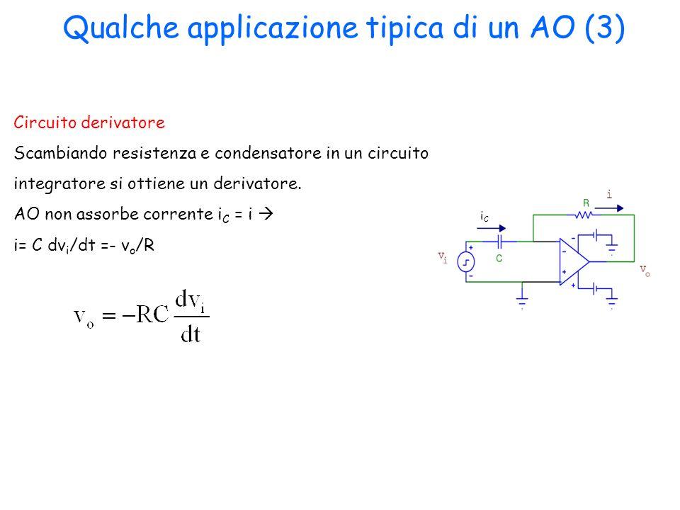 Qualche applicazione tipica di un AO (3)