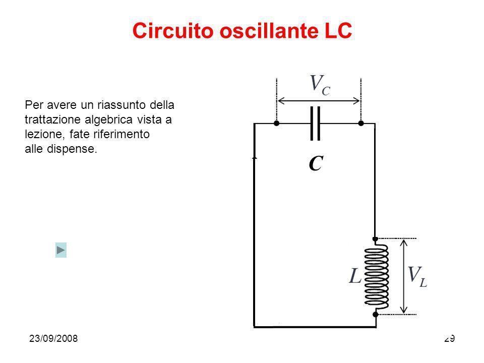 Circuito oscillante LC