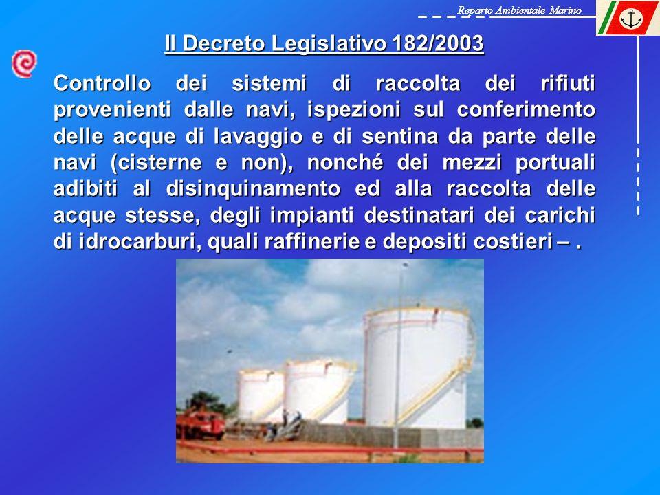 Il Decreto Legislativo 182/2003