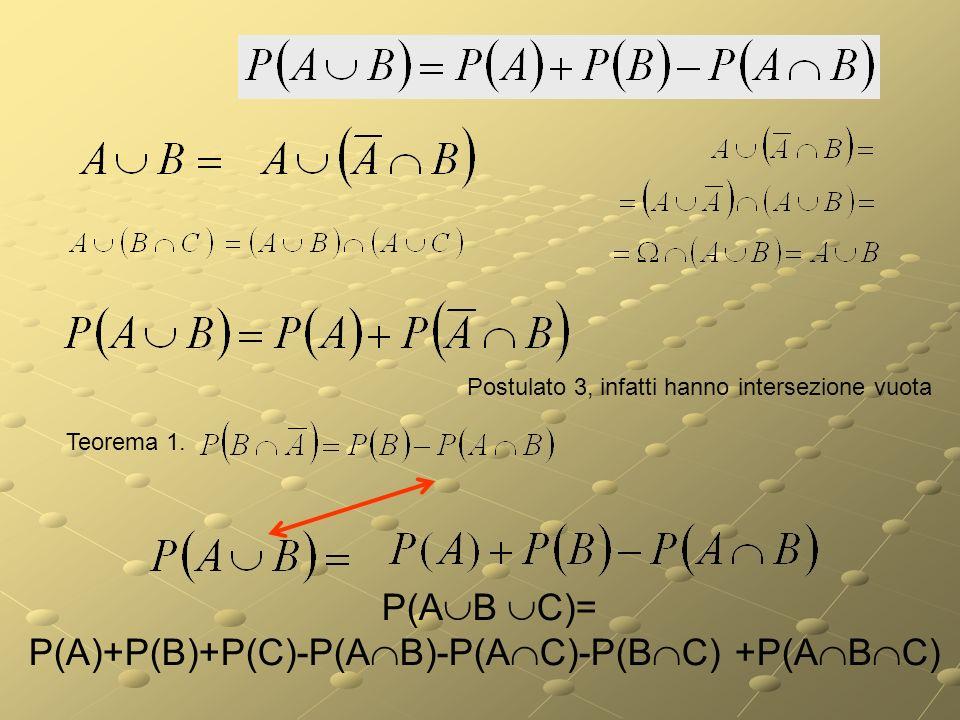P(A)+P(B)+P(C)-P(AB)-P(AC)-P(BC) +P(ABC)