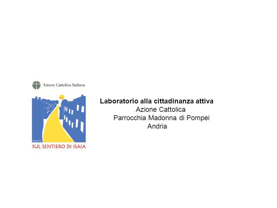 Laboratorio alla cittadinanza attiva