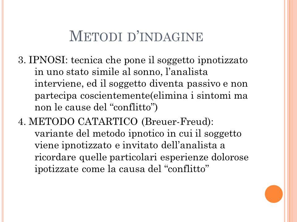 Metodi d'indagine