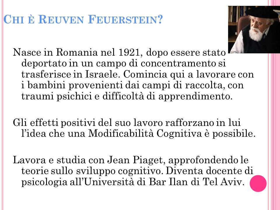 Chi è Reuven Feuerstein