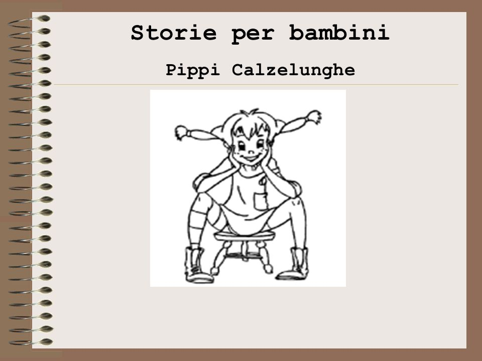 Storie per bambini Pippi Calzelunghe