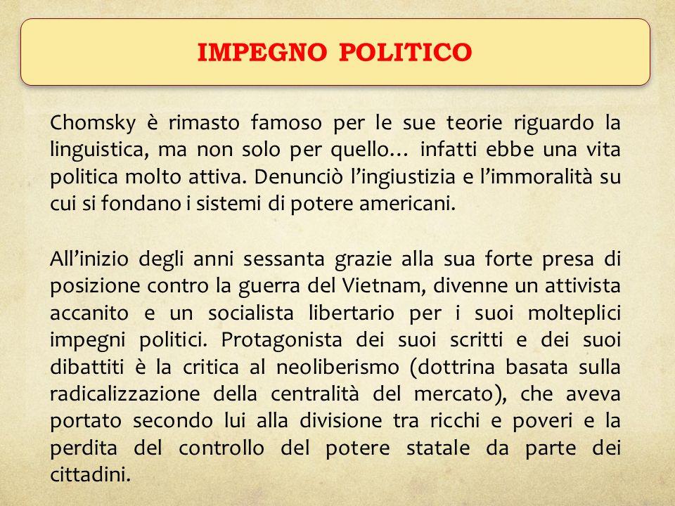 IMPEGNO POLITICO
