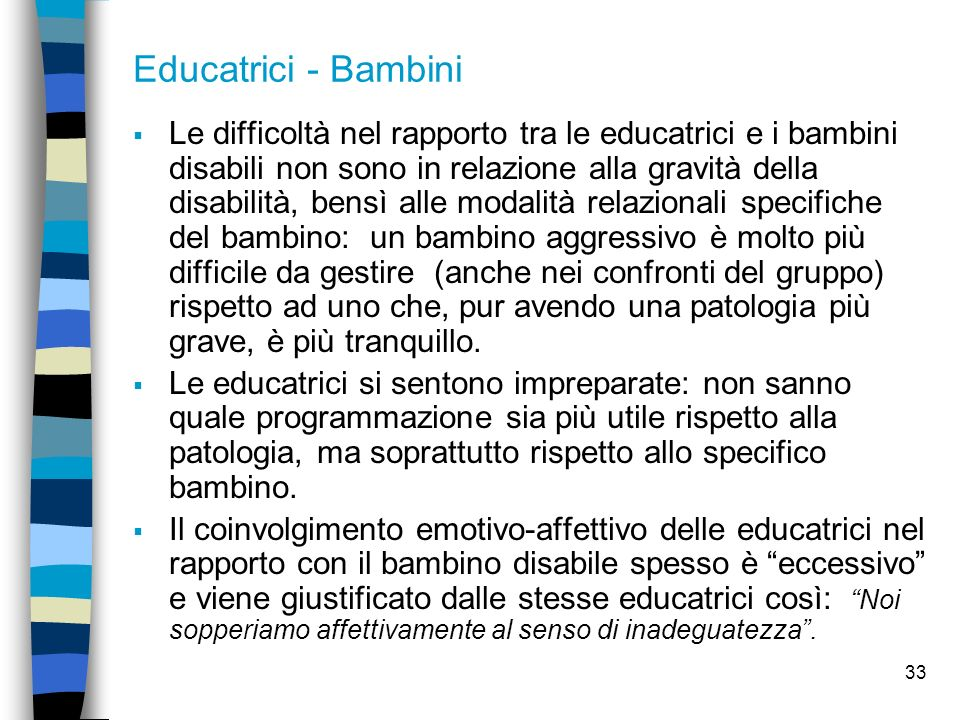 Educatrici - Bambini