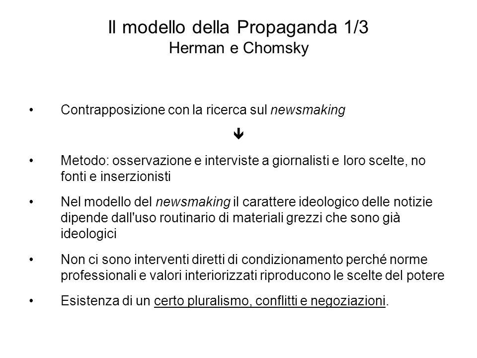 Il modello della Propaganda 1/3