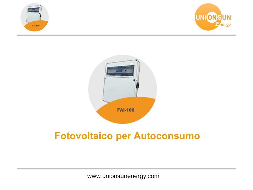 Fotovoltaico per Autoconsumo
