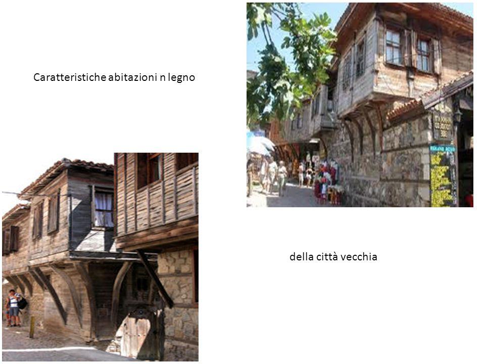 Caratteristiche abitazioni n legno