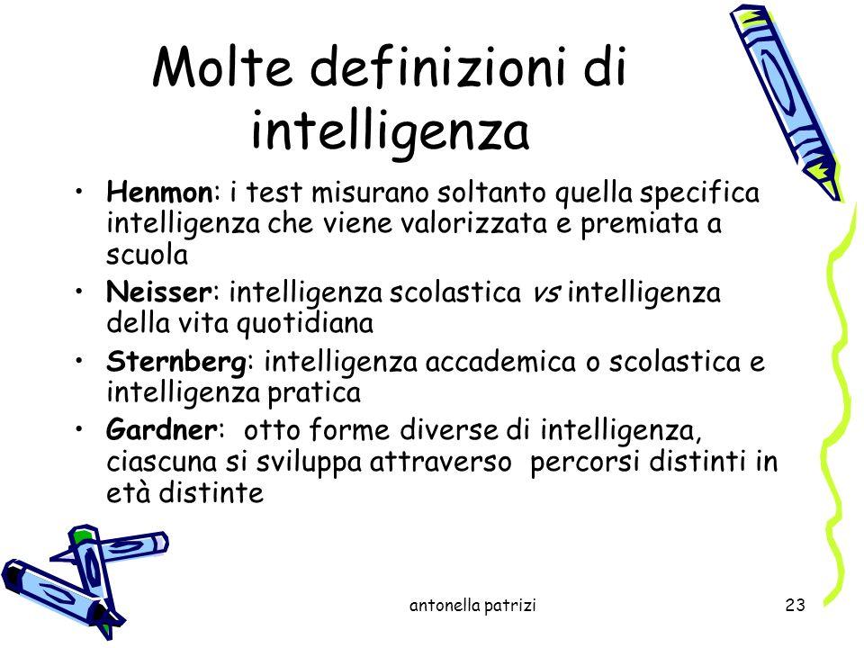 Molte definizioni di intelligenza