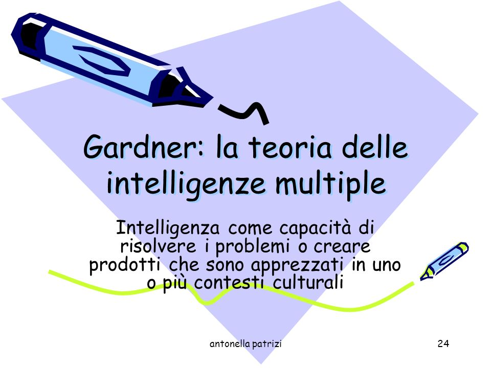 Gardner: la teoria delle intelligenze multiple