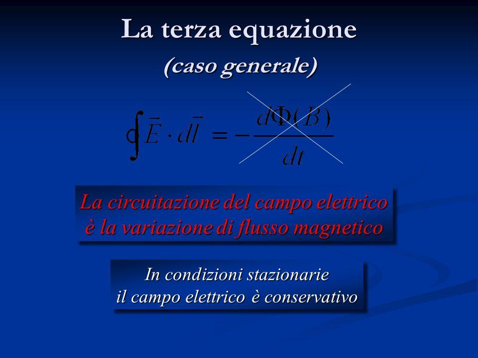 La terza equazione (caso generale)