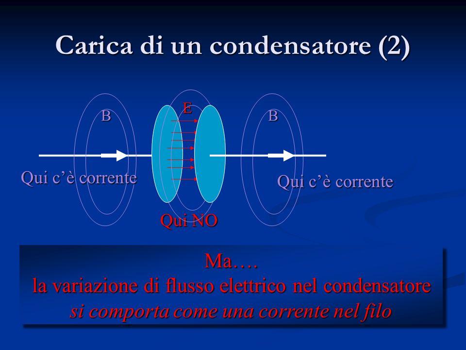 Carica di un condensatore (2)