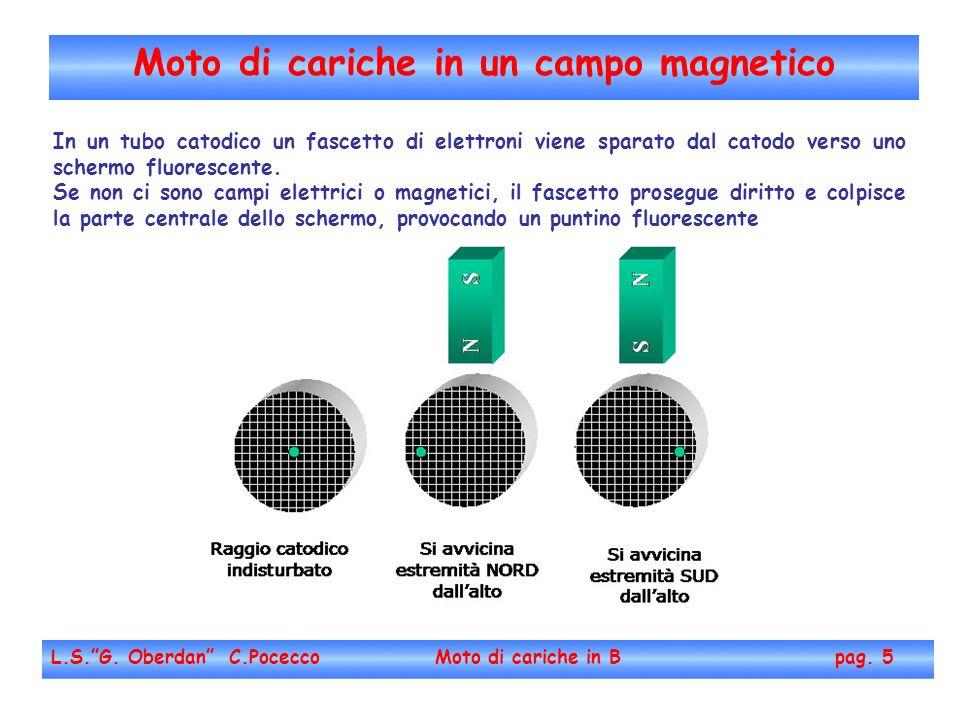 Moto di cariche in un campo magnetico